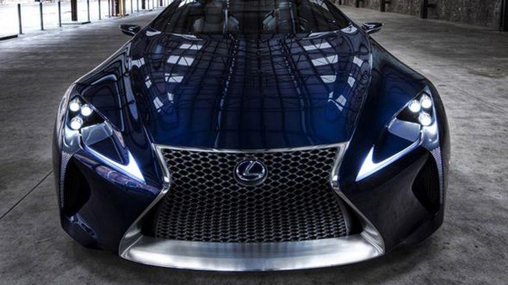 Lexus จดชื่อการค้า LC 500 และ LC 500h แล้ว คาดใช้กับรถสปอร์ต LF-LC