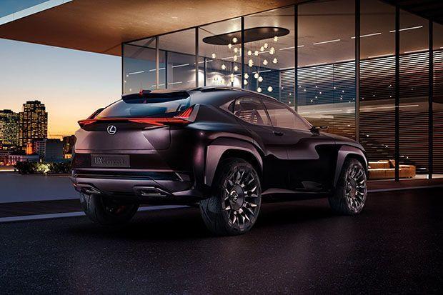 คมคายได้อีก Lexus UX Crossover Concept รถต้นแบบสุดเท่