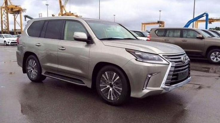 เลกซัส จ่อเปิดตัวรถยนต์ 2 รุ่นใหม่ พร้อมภาพหลุดรุ่น แอลเอ็กซ์570