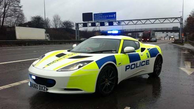 Lotus Evora เวอร์ชั่นรถตำรวจอังกฤษ เปิดตัวที่ Autosport International Show
