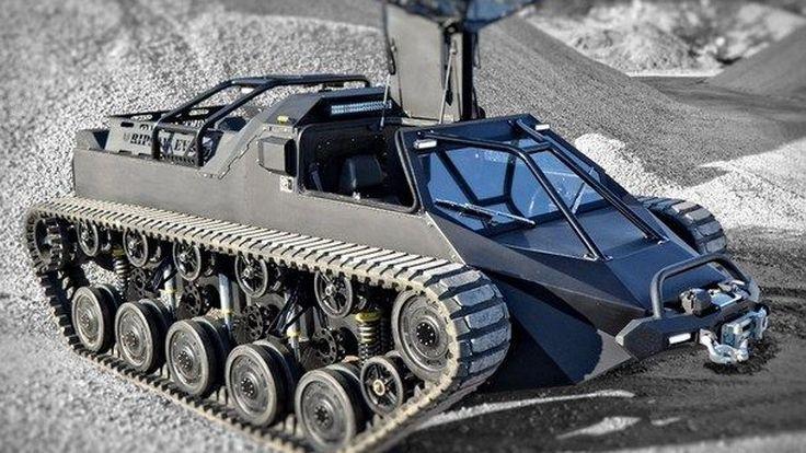 เมื่อรถถังความเร็วสูงของกองทัพสหรัฐ ถูกโมใหม่เป็นรถขับเล่นสำหรับผู้มีอันจะกิน