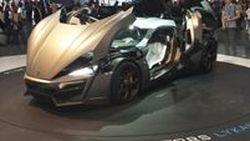 ไฮเปอร์คาร์อาหรับ W Motors Lykan Hypersport โฉมโปรดักชั่น 770 แรงม้า