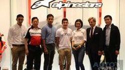 Marc Marquez แชมป์โลก Moto GP ร่วมฉลองเปิดตัว  Alpinestars Flagship Store แห่งแรกในเอเชีย