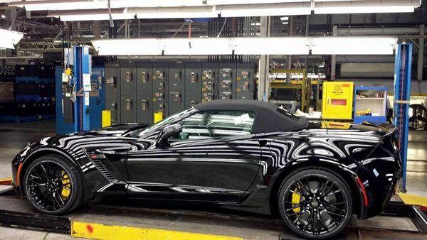 เปรี้ยวเลย! Mary Barra ซีอีโอ GM สั่งซื้อ Chevrolet Corvette Z06 Convertible