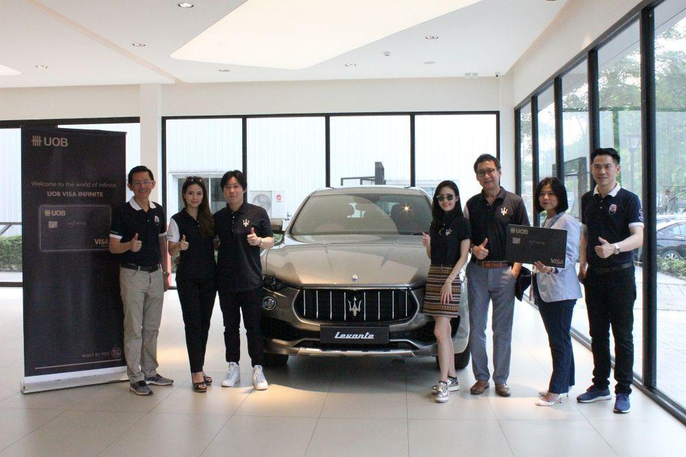 [PR News] MASERATI ยูโอบี มอบประสบการณ์สุดเอ็กซ์คลูซีฟลูกค้า VIP ทดสอบสมรรถนะ MASERATI Ghibli และ Levante