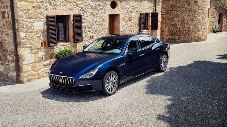 Maserati  เปิดตัว Quattroporte ใหม่ สปอร์ตซีดานรุ่นใหญ่ เพิ่มเทคโนโลยีล้ำสมัย พร้อมความเร้าใจที่มากขึ้น