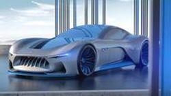 Maserati Genesi Concept คอนเซตป์ซูเปอร์คาร์แห่งโลกอนาคต