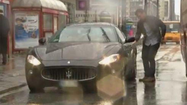 แค่สลับที่นั่งใน Maserati GranTurismo ยังมีเรื่องให้ต้องกระเป๋าฉีกอีกจนได้