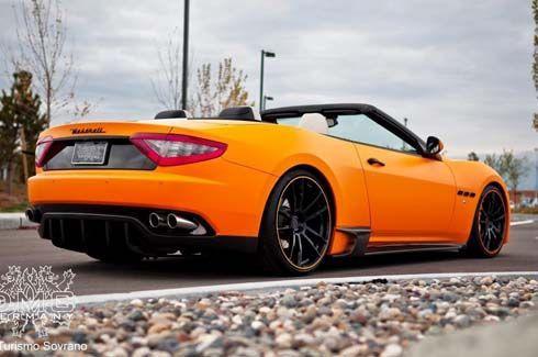 DMC ยัดซูเปอร์ชาร์จให้ Maserati GranCabrio รีดกำลัง 582 แรงม้า