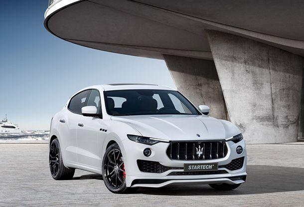 [Geneva 2017] เติมความดุดัน Maserati Levante โดยสำนัก Startech