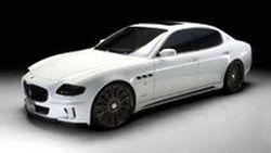 Maserati Quattroporte ในชุดแต่งโฉม Black Bison จาก Wald International