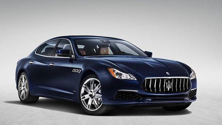 Maserati Quattroporte รุ่นปรับโฉม อัพเกรดเทคโนโลยีและรูปลักษณ์