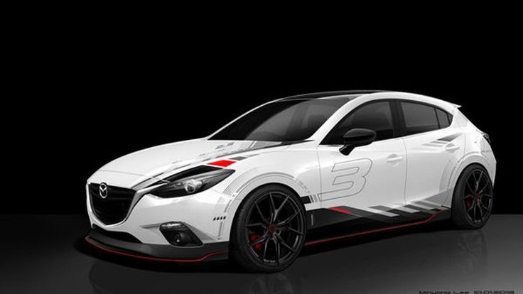 """Mazda ปล่อยภาพรถแต่งหลายรุ่น นำทัพโดย """"3"""" และ """"6"""" โชว์ตัวที่อเมริกา"""