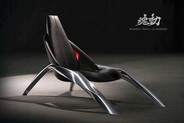 สนไหม? เก้าอี้ดีไซน์เฉียบ Mazda Kodo Chair