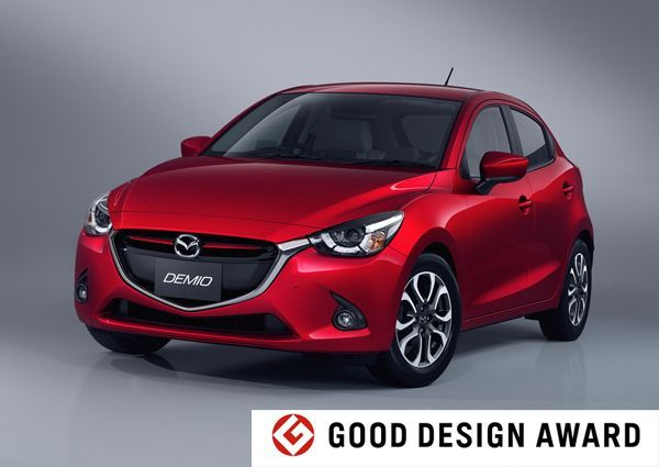 ถ้วยล้นตู้! Mazda 2 คว้าอีกรางวัล Good Design Gold Award 2014 ในญี่ปุ่น