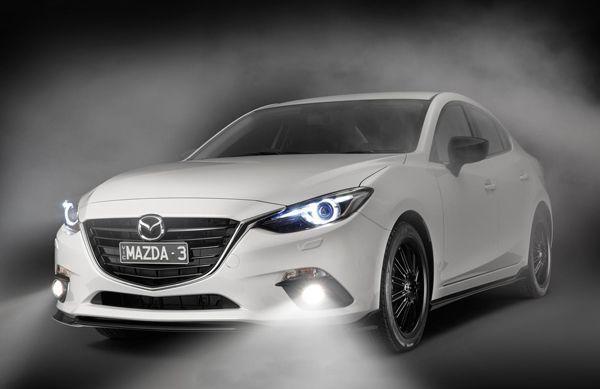"""หล่ออีกแล้ว Mazda 3 แต่งแพ็คเกจสปอร์ต """"Kuroi"""""""