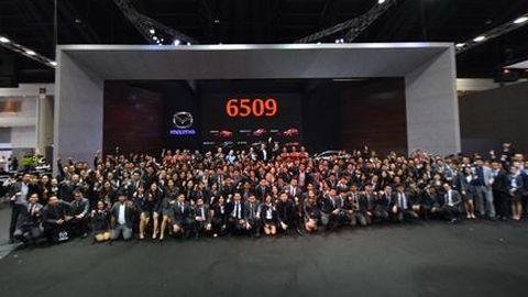 เจาะผลสำเร็จมาสด้า ยอดขายมอเตอร์เอกซ์โป 6,500 คัน คว้ายอดขายอันดับ 2