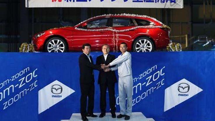 Mazda ทำเซอร์ไพรส์ เผยโฉม Mazda6 Wagon ในงานแถลงข่าวเปิดสายการผลิต