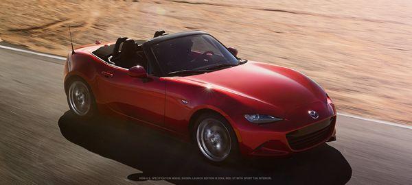 Mazda MX-5 Launch Edition รุ่นพิเศษประเดิมเปิดรับจอง 1,000 คัน