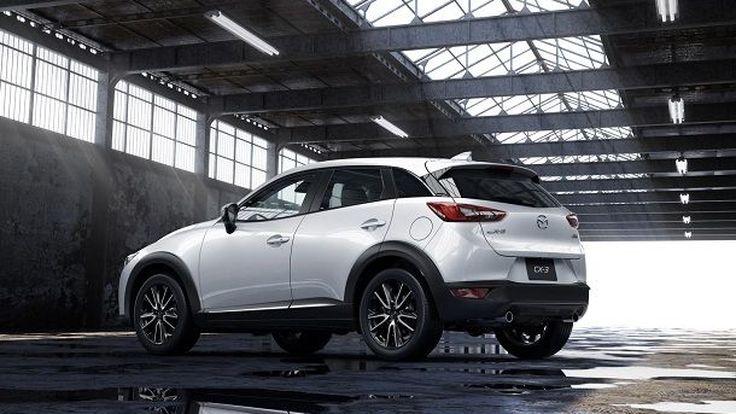 """Mazda เปิดภาพทีเซอร์แรก """"CX-3"""" โชว์ตัวจริงแน่ที่แอลเอ ออโต้โชว์"""