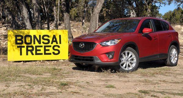 สื่อนอกตีข่าว ลูกค้าทดสอบระบบเบรกอัตโนมัติใน Mazda CX-5 แต่พลาดเสยกำแพง