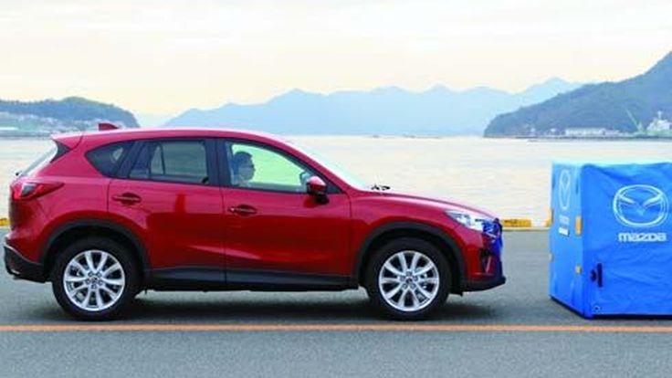 Mazda แนะนำระบบช่วยเบรคอัจฉริยะ เตรียมใช้กับ CX-5 รุ่นใหม่ล่าสุด