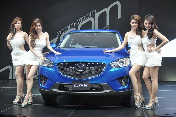 Mazda CX-5 เผยโฉมครั้งแรกในเมืองไทย ยกขบวนสายพันธุ์สปอร์ตอัดแน่นมอเตอร์โชว์