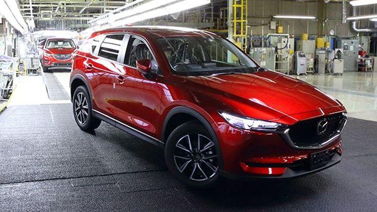 Mazda เตรียมพัฒนารถครอสโอเวอร์รุ่นใหม่ ทำตลาดระหว่าง CX-5 และ CX-9