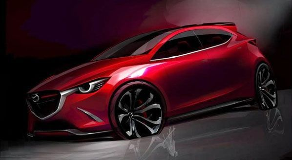 เก็บสตางค์รอ! เผยภาพหลุดเต็มคัน Mazda Hazumi ว่าที่ Mazda 2 เจนใหม่
