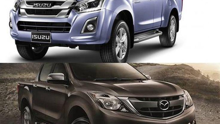 Mazda จับมือ Isuzu พัฒนารถกระบะร่วมกัน