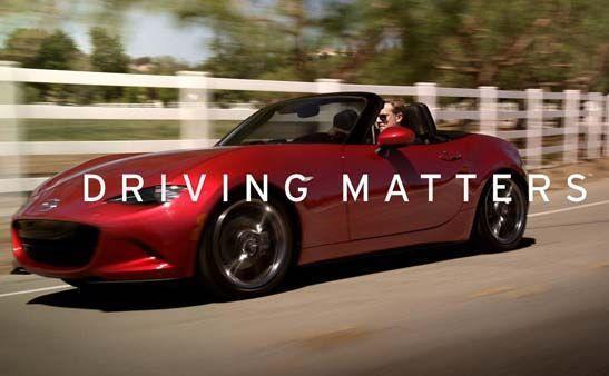 "Mazda เปิดตัวแคมเปญ ""Driving Matters"" เน้นช่วงเวลาสำคัญของชีวิต"