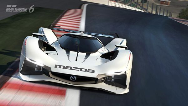 Mazda ส่ง LM55 Vision GranTurismo รถแข่งสุดเท่เป็นของขวัญวันปีใหม่