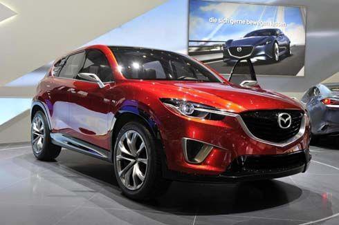 Mazda Minagi Concept ครอสโอเวอร์ในภาษาการออกแบบ Kodo อวดโฉมที่เจนีวา