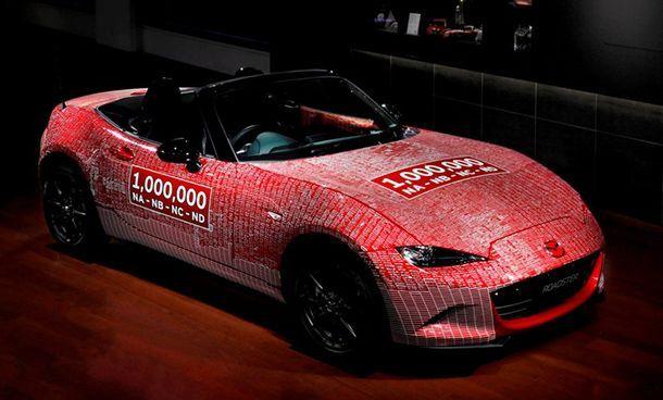 Mazda MX-5 คันที่ 1 ล้าน เดินทางกลับบ้านเกิด