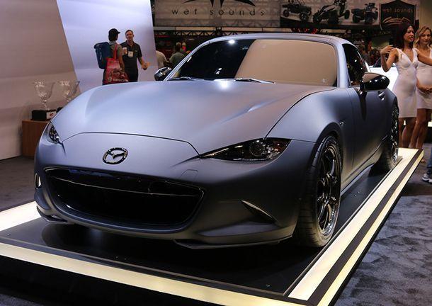 ชมกันชัดๆ อีกรอบ สองรถต้นแบบ Mazda MX-5 เน้นสมรรถนะ