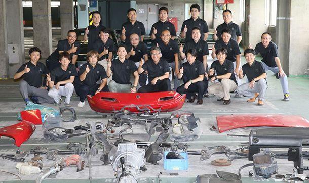 แฟนๆ ปรบมือให้ Mazda เปิดตัวโครงการบูรณะ MX-5 รุ่นแรก