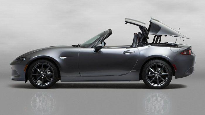Mazda MX-5 RF หลังคาแข็งเปิดตัวครั้งแรกในโลก