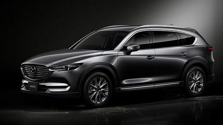 """Mazda เปิดรับพรีออร์เดอร์ """"CX-8"""" ในประเทศญี่ปุ่นแล้ว"""
