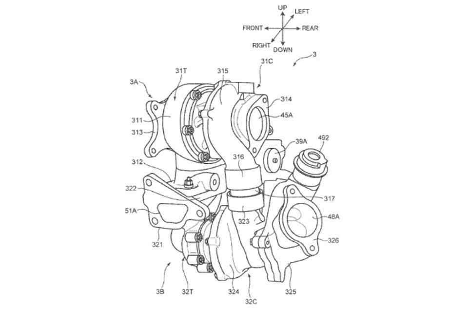 Mazda จดสิทธิบัตรเครื่องยนต์ทวินเทอร์โบซีเควนเชียลรุ่นใหม่