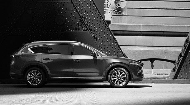 Mazda เผยรูปลักษณ์ภายนอกของ CX-8 รถเอสยูวี 3 แถวที่นั่ง
