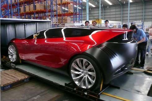 Mazda Ryuga Concept ต้นแบบ Mazda3 เตรียมอวดโฉมที่ Motor Expo 2010