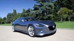 Mazda Shinari คูเป้ 4 ประตู พื้นฐาน Mazda6 ตัวใหม่ อวดลวดลายผ่านภาพชุดใหม่และคลิปวิดีโอ