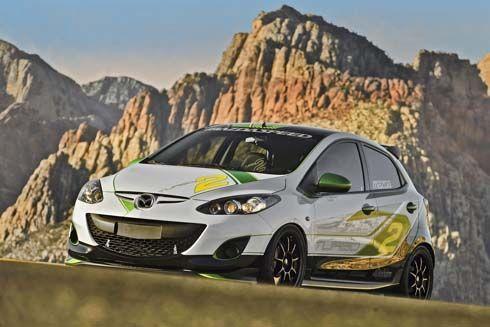 เผยโฉมเต็มตัว Mazda2 Turbo และ Mazda2 3dCarbon ก่อนโผล่ที่ SEMA Show