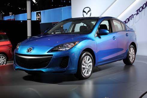 เปิดตัว Mazda3 รุ่นปี 2012 ไมเนอร์เชนจ์ พร้อมสเปคเครื่องยนต์และระบบเกียร์ SKYACTIV
