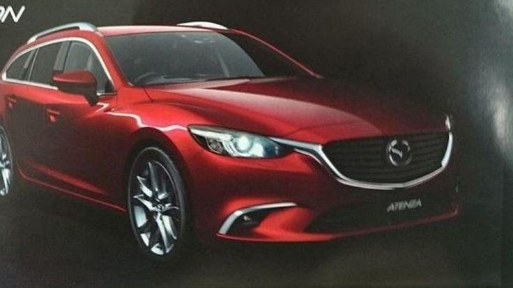 หลุดภาพ Mazda 6 รุ่นปรับโฉมเล็กเพิ่มความสดใหม่