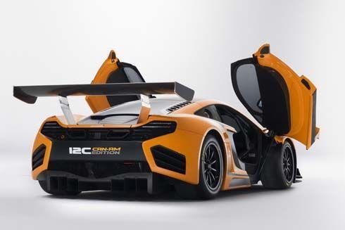 McLaren ผลิตรถแข่ง 12C GT Can-Am Edition เอาใจเศรษฐีเท้าหนักเพียง 30 คันในโลก