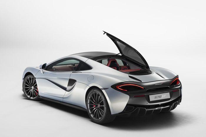 McLaren 570GT มาพร้อมช่องเก็บของด้านหลัง เพิ่มฟังก์ชั่นใช้งาน