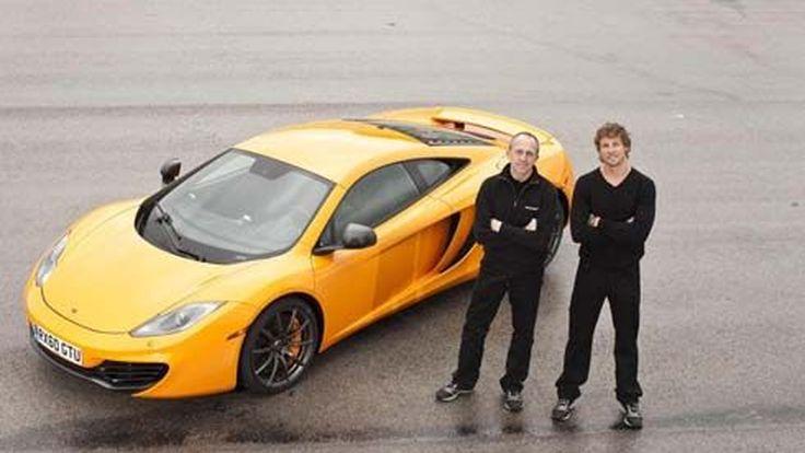 McLaren MP4-12C ในภาพชุดใหม่และวิดีโอ Drag ปะทะ 458 Italia และ 911 Turbo