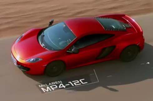 วิดีโอเปิดตัว McLaren MP4-12C 'The Perfect Line' ในตะวันออกกลาง