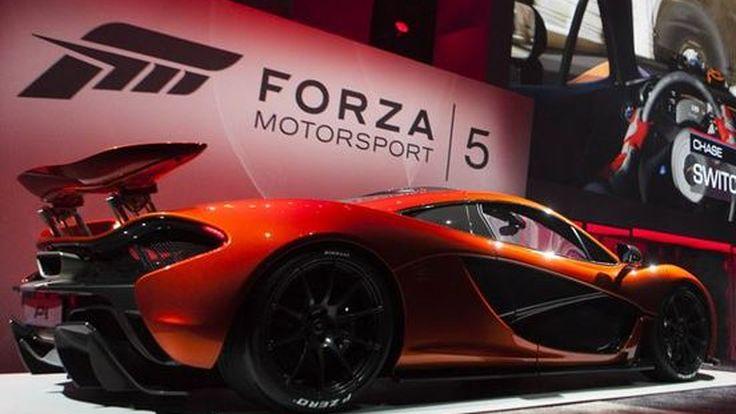 อยากขับ Mclaren P1 ก่อนใครไหม  แข่งเกมส์ Forza 5 ให้ชนะสิ!